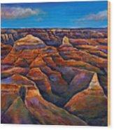 Shadow Canyon Wood Print by Johnathan Harris