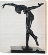 Shadow Dancer Wood Print