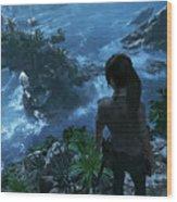 Shadow Of The Tomb Raider Wood Print