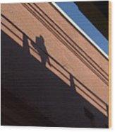 Shadow Skate Wood Print