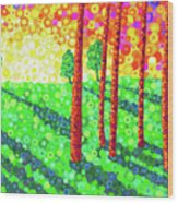 Shadowlands Wood Print