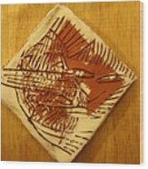 Shadows - Tile Wood Print