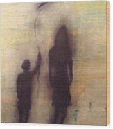 Shadows 2 Wood Print