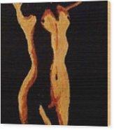Shadows IIi Wood Print