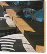 Shadows Series-9 Wood Print