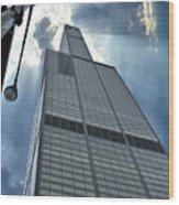 Willis Tower Wood Print