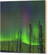 Shafts Of Lights Wood Print