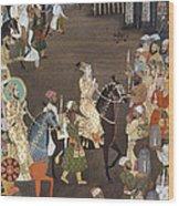 Shah Jahan (1592-1666) Wood Print