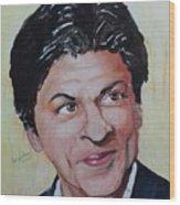 Shah Rukh Khan Wood Print