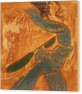 Shake It - Tile Wood Print
