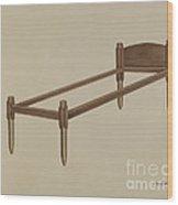 Shaker Bed Wood Print