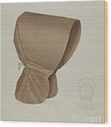 Shaker Bonnet Wood Print