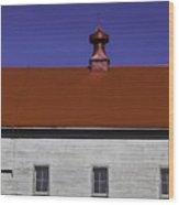 Shaker Building Wood Print