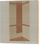 Shaker Built-in Cupboard Wood Print