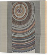 Shaker Circular Rug Wood Print