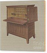 Shaker Desk Wood Print