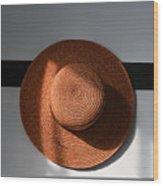 Shaker Hat Wood Print