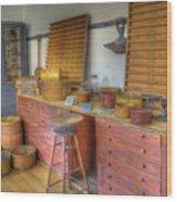 Shaker Seedroom 2 Wood Print