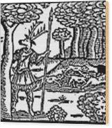 Shakespeare: Falstaff Wood Print