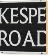 Shakespeare Road Uk Wood Print