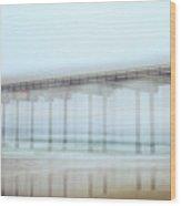 Shaky Scripps Wood Print
