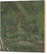 Shalott Wood Print