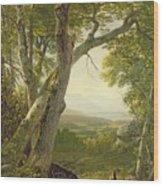 Shandaken Ridge - Kingston Wood Print