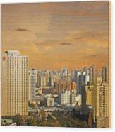 Shanghai - Paris Of The East Wood Print