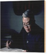 Shanghai Headmaster Wood Print