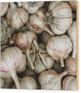 Shantung Garlic Wood Print