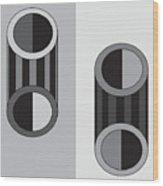 Shapeplay60 Wood Print