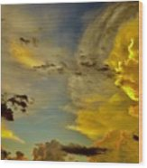Shapes Of Heaven Wood Print