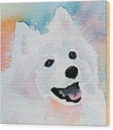 Shasta, A Prince Of A Dog Wood Print