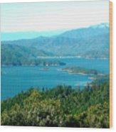 Shasta Lake Wood Print