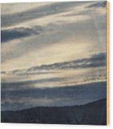 Shasta Trinity National Forest Sunrise Wood Print