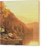 Shawanagunk Mountains Wood Print