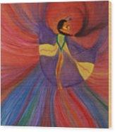 Shawl Dancer Wood Print