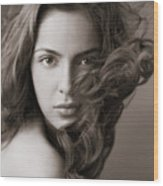 Shazahn Padamsee Wood Print