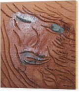 She - Tile Wood Print