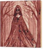 She Is... Wood Print