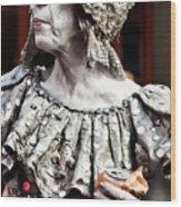 She Of Jackson Square Wood Print