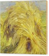 Sheaf Of Grain 1907 Wood Print