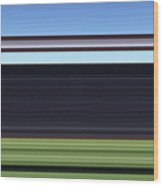 Shear54 Wood Print