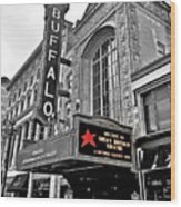 Shea's Buffalo Theater Wood Print