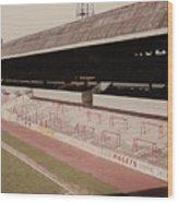 Sheffield United - Bramall Lane - John Street Stand 1 - 1970s Wood Print