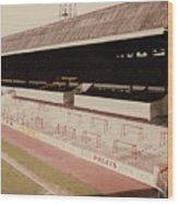 Sheffield United - Bramall Lane - John Street Stand 2 - 1970s Wood Print