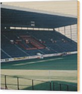 Sheffield United - Bramall Lane - South Stand 1 - 1970s Wood Print