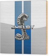 Shelby Cobra - 3D Badge Wood Print