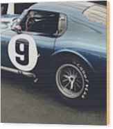 Shelby Cobra Daytona Coupe Wood Print