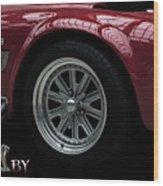 Shelby Cobra Sports Car Wood Print